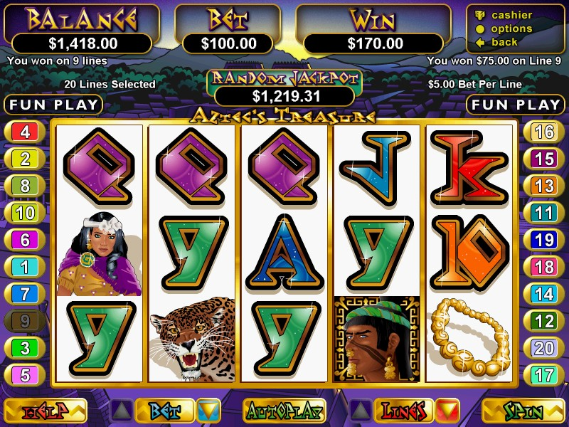 Aztec Treasure Slot Machine Free - Play It Now Online